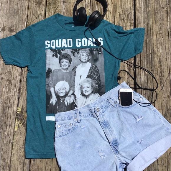 Golden Girls Tops - Golden Girls Squad Goals Graphic Tee